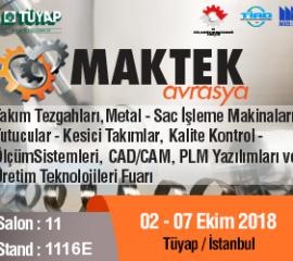 Maktek Avrasya 2018 exhibition